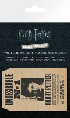 Harry Potter: Undesirable No 1 Card Holder - 1