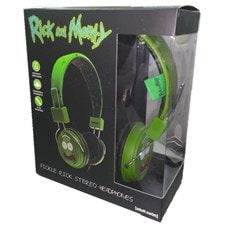 Lazerbuilt Rick & Morty Pickle Rick Headphones w/Mic - 2