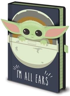 The Mandalorian: I'm All Ears Premium A5 Notebook - 2