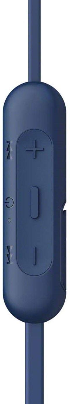 Sony WI-C310 Blue Bluetooth Earphones - 4