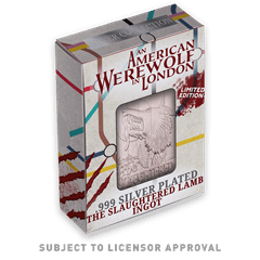 American Werewolf In London: Pub Sign Limited Edition Silver Plated Replica Collectible - 3