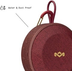 House Of Marley No Bounds Red Bluetooth Speaker - 3