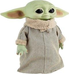 The Child, Grogu (Baby Yoda) Real Moves: Mandalorian: Star Wars Interactive Plush - 3