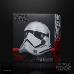 First Order Stormtrooper Electronic Helmet: Star Wars Black Series - 5