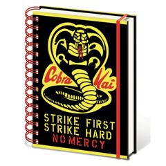 Cobra Kai No Mercy A5 Wiro Notebook - 1