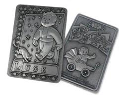 Fallout: Luck Metal Perk Card - 3