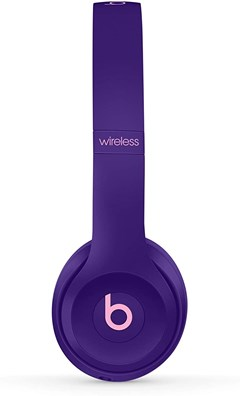 Beats By Dr Dre Solo 3 Wireless Pop Violet Headphones (Pop Collection) - 2