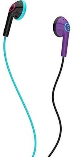 2XL Offset Purple Earphones - 1