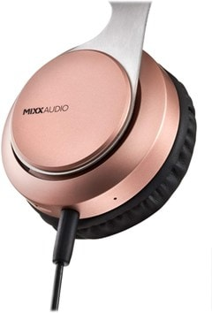 Mixx Audio JX1 Rose Gold On Ear Bluetooth Headphones - 6