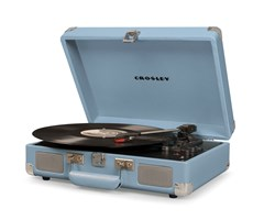 Crosley Cruiser Deluxe Tourmaline Turntable - 1