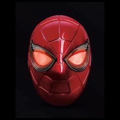 Iron Spider: Spider-Man Hasbro Marvel Legends Series Electronic Helmet - 2