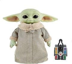 The Child, Grogu (Baby Yoda) Real Moves: Mandalorian: Star Wars Interactive Plush - 1