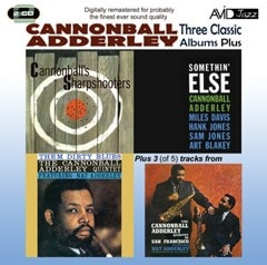Three Classic Albums Plus: Somethin' Else/Cannonball's Sharpshooters/Them Dirty Blues - 1