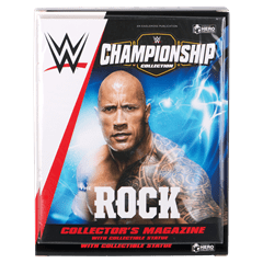 The Rock: WWE Championship Figurine: Hero Collector - 4