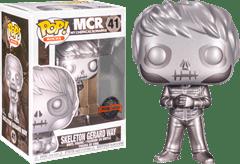 Skeleton Gerard Way Metallic (41): My Chemical Romance Pop Vinyl - 1