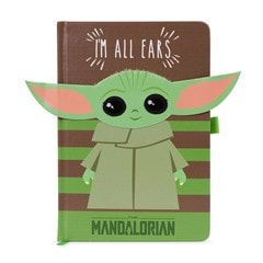 The Mandalorian: I'm All Ears (Green) Premium A5 Notebook - 2