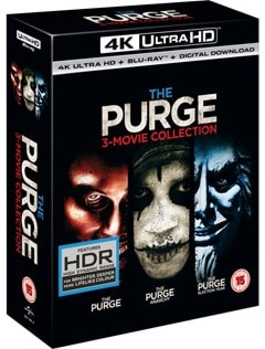 The Purge: 3-movie Collection - 2
