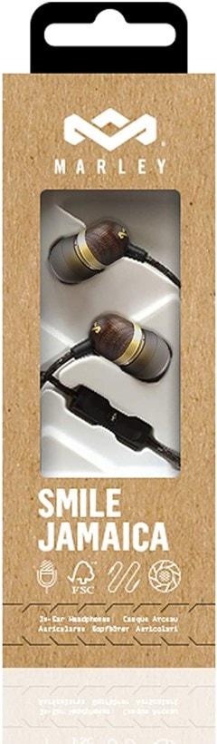House Of Marley Smile Jamaica Brass Earphones w/Mic (hmv Exclusive) - 4