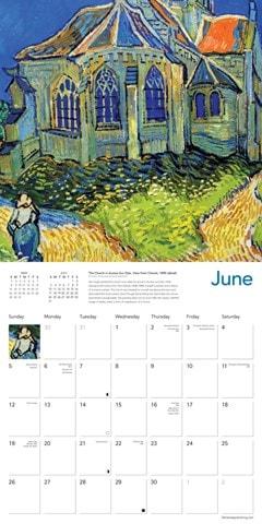 Vincent van Gogh Square 2022 Calendar - 2