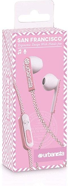 Urbanista San Francisco Pink Paradise Earphones - 4