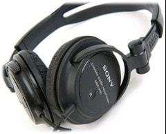 Sony MDRV150 Black Headphones - 2