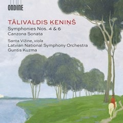Talivaldis Kenins: Symphonies Nos. 4 & 6/Canzona Sonata - 1