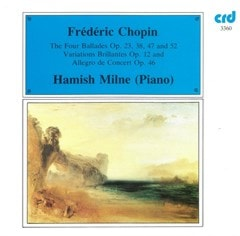 Frederic Chopin: The Four Ballades, Op. 23, 38, 47 and 52/... - 1