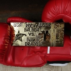 Rocky IV Ivan Drago Fight Ticket: 24K Gold Plated Limited Edition Collectible - 3