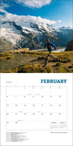 World's Most Beautiful Runs Square 2022 Calendar - 2
