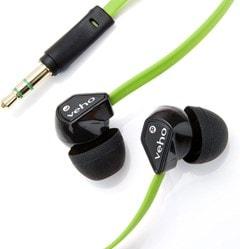 Veho Z1 Green Earphones - 2