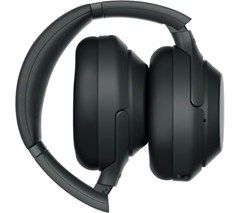 Sony WH-1000XM3 Black Active Noise Cancelling Bluetooth Headphones - 3
