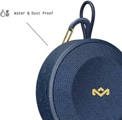 House Of Marley No Bounds Blue Bluetooth Speaker - 3