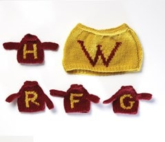 Weasley Tea & Egg Cosy: Harry Potter Knit Kit - 4