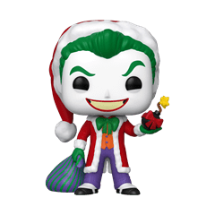 The Joker as Santa (358) DC Holiday Pop Vinyl - 1