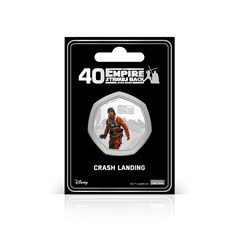 Crash Landing: Silver Plated Star Wars Commemorative Coin - 1