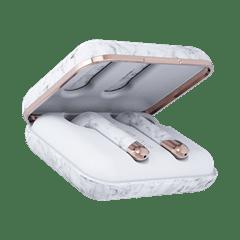Happy Plugs Air1 Plus White Marble Earbud True Wireless Bluetooth Earphones - 3