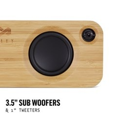 House Of Marley Get Together Signature Black Bluetooth Speaker - 3