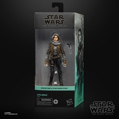 Jyn Erso Rogue One Star Wars Black Series Action Figure - 6