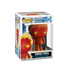 Human Torch (559) Fantastic Four: Marvel Pop Vinyl - 2