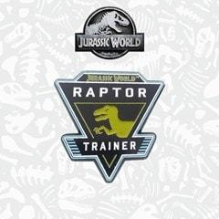 Jurassic World: Rapture Trainer Pin Badge - 1