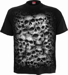 Spiral : Black Twisted Skulls (Small) - 1