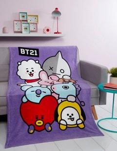 BT21 Friends Fleece Blanket - 1