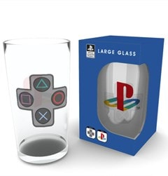 Large Glass: Playstation Buttons - 1