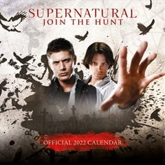 Supernatural Square 2022 Calendar - 1