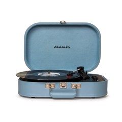 Crosley Discovery Glacier Blue Turntable - 1