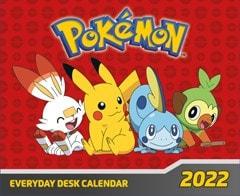 Pokemon Desk Block 2022 Calendar - 1