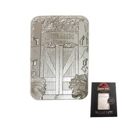Jurassic Park: Entrance Gates Silver Plated Collectible - 2