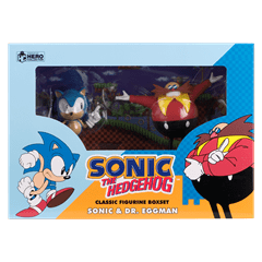 Sonic and Dr Eggman Figurine Set: Hero Collector - 4