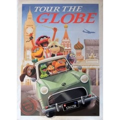 The Muppets: Tour The Globe: Limited Edition Art Print - 1