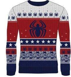 Spider-Man: Marvel Christmas Jumper (Small) - 1